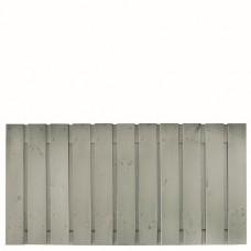 Tuinscherm Gent zilvergrijs gespoten grenen 180x90 cm