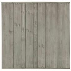 Tuinscherm Jack zilvergrijs grenen 180x180 cm