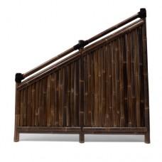Bamboescherm Ayu 90>180x180 cm black