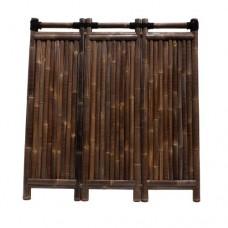 Bamboescherm Emperor 180x180 cm black