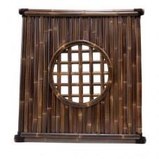Bamboescherm Fuji 180x180 cm black
