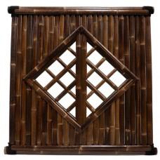 Bamboescherm Mite 180x180 cm black