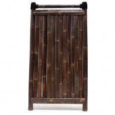 Bamboescherm Teppan 180x90 cm black