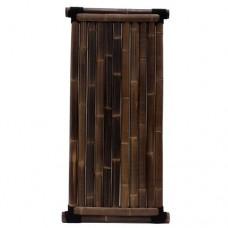 Bamboescherm Timo 180x90 cm black