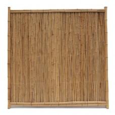 Bamboescherm dicht 180x180 cm