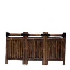 Bamboescherm Emperor 90x180 cm black