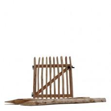 Kastanjehouten poort 100x100 cm