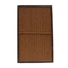 Kokosscherm in houten frame 180x120 cm