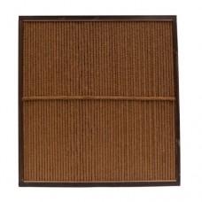 Kokosscherm in houten frame 180x180 cm