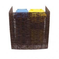 Containerberging wilgenhout dubbel model