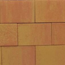 Terras-steen 20x30x4 cm zalm geel AANBIEDING
