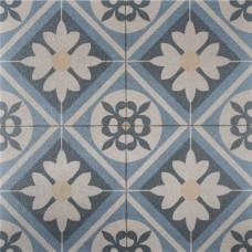 Designo 60x60x4 cm mosaic blue