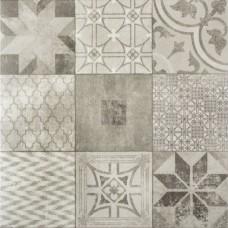 Designo 60x60x4 cm mosaic grey