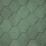 Dakshingles hexagonaal groen +€ 60,00