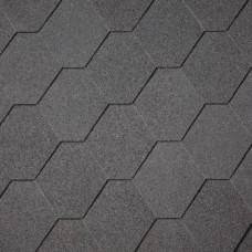 Dakshingles hexagonaal zwart
