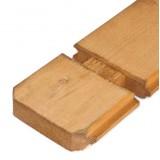 Houten vloer 18 mm geïmpregneerd bruin +€ 527,20