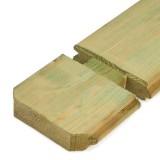 Houten vloer 18 mm geïmpregneerd groen +€ 527,20