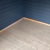 Houten vloer inclusief geïmpregneerde onderbalken +€ 185,00