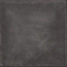 Betontegel 50x50x5 cm antraciet met facet