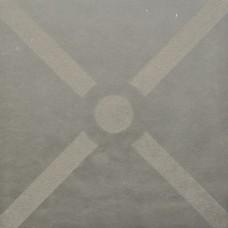 Optimum decora 60x60x4 cm graphite bow