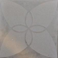Optimum decora 60x60x4 cm silver iris