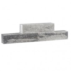 Split wall 40x10x10 cm grijs zwart