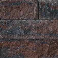Splitrocks getrommeld 15x15x60 cm bruin zwart