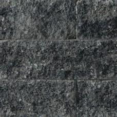 Splitrocks getrommeld 15x15x60 cm grijs zwart