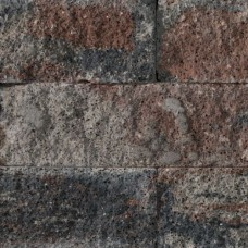 Splitrocks getrommeld 15x15x60 cm tricolore