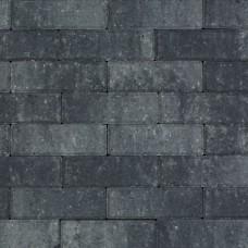 Strak dikformaat 21x7x6 cm grijs zwart