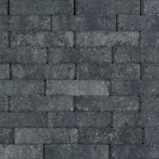Strak waalformaat 20x5x6 cm grijs zwart