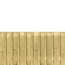 Tuinscherm geïmpregneerd vuren 90x180 cm 21-planks 133070