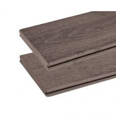Vlonderplank composiet vintage mixed bruin 1,9x13,5 cm 135040