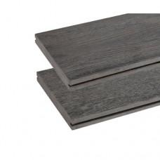 Vlonderplank composiet vintage grijs 1,9x13,5 cm 135043