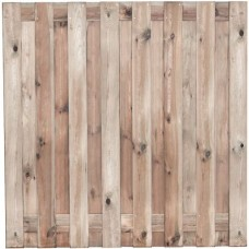 Tuinscherm Coevorden geïmpregneerd grenen 180x180 cm