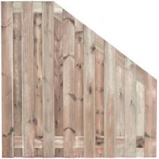 Tuinscherm Coevorden geïmpregneerd grenen 180>90x180 cm