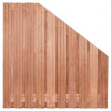 Tuinscherm Dronten hardhout 180>90x180 cm
