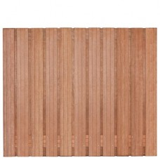 Tuinscherm Hoorn hardhout 180x150 cm