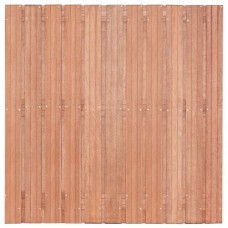 Tuinscherm Hoorn hardhout 180x180 cm