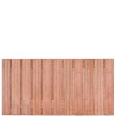 Tuinscherm Hoorn hardhout 180x90 cm