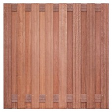 Tuinscherm Kampen hardhout 180x180 cm