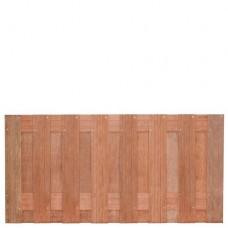 Tuinscherm Kampen hardhout 180x90 cm