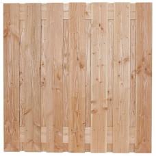 Tuinscherm Saalbach lariks/douglas 180x180 cm