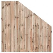 Tuinscherm Zaltbommel geïmpregneerd grenen 180>90x180 cm
