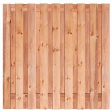 Tuinscherm Tanger Red Class Wood 180x180 cm
