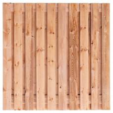 Tuinscherm Casablanca Red Class Wood 180x180 cm
