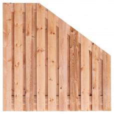 Tuinscherm Casablanca Red Class Wood 180>90x180 cm