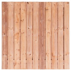 Tuinscherm Agadir Red Class Wood 180x180 cm