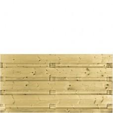 Tuinscherm geïmpregneerd vuren 90x180 cm 103288