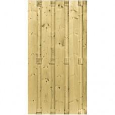 Tuinscherm geïmpregneerd vuren 180x90 cm 103288